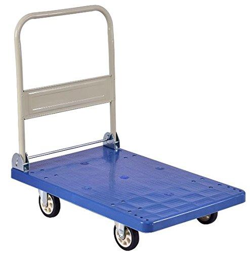 K&A Company Folding Platform Dolly Hand Cart Truck Heavy Transport Loads Tool Duty Moving Utility Push 660 lbs