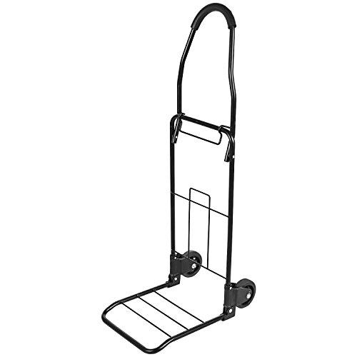 Pagacat Heavy Duty Folding Hand Truck Portable Luggage Dolly Cart for IndustrialTravelShopping110 lbs CapacityUS Stock