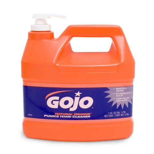 GOJ095504 - Natural Orange Pumice Hand Cleaner Orange Citrus 1 Gal Pump