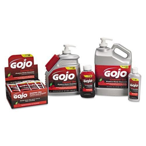 GOJO 235802 Cherry Gel Pumice Hand Cleaner 1gal Bottle 2Carton