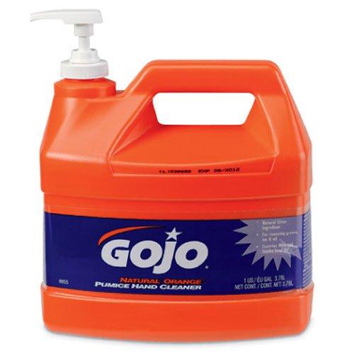 Gojo 0955 Natural Orange Pumice Hand Cleaner - 1 Gallon