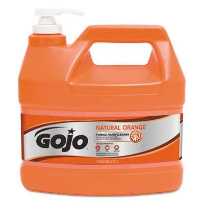 GOJOampreg Natural Orange Pumice Hand Cleaner Orange Citrus 1gallon Pump 4 per Carton