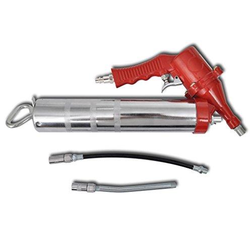 Festnight Heavy Duty Professional Quality Compressed Air Pneumatic Grease Gun