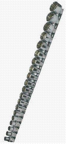 T E Tools 12 Drive 20Pc Multi-Lock Spline Socket Set