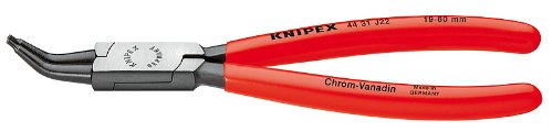 Knipex 4431J22 Internal 45 Degree Angled Retaining Ring Pliers 675-Inch