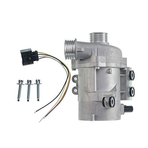 A-Premium Electric Engine Water Pump for BMW 128i 323i 328i 328xi 330i 330xi 528i 528xi 530i 530xi X3 X5 Z4