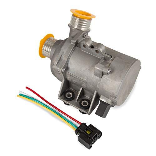 Electric Engine Water Pump for BMW X3 X5 Z4 128i 325i 328i 528i 530xi E81 E90 E91 E92 E93 E60 E61 E63 Replace Part Nmuber 11517586925 702851208 11517563183 11510392553 Silver