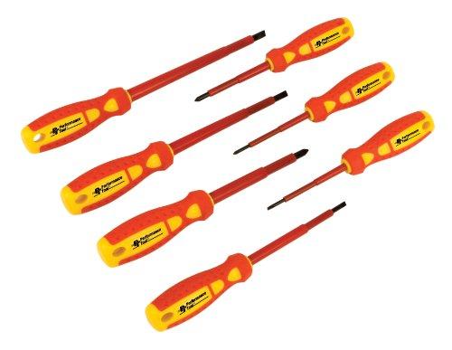 Performance Tool W30897 Electrical Screwdriver Set 7-Piece
