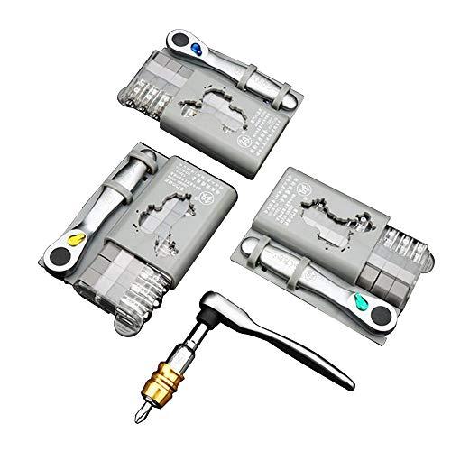 Tickas Ratchet Screwdriver Set12Pcs Mini Ratchet Screwdriver Set Ratchet Wrench Set