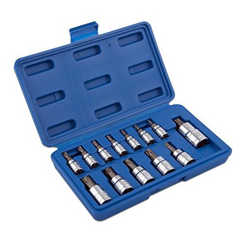 Neiko  10071A Torx Bit Socket Set T8 - T60 S2 Steel  13-Piece Set