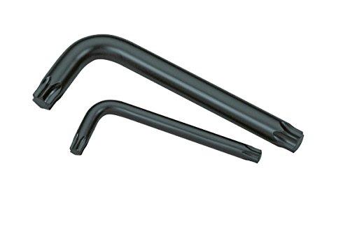 GEDORE 1531417 Cranked Socket Key TORX T7-T40 Pack of 9