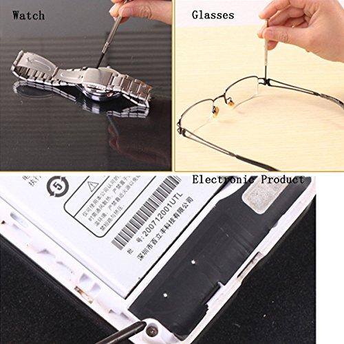 16Pcs Precision Mini Hex Screwdriver Set Electronic Micro Hobby Jeweler Watch Repair Tool