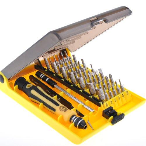 45 in 1 Precision Torx Screwdriver Cell Phone Repair Tool Set Tweezer Mobile Kit