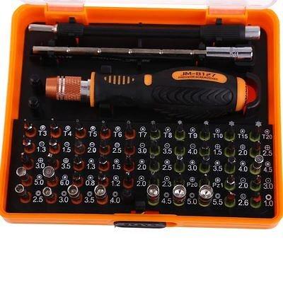 53 in 1 Multi-Bit Precision Torx Screwdriver Tweezer Cell Phone Repair Tool Set screwdriver sets