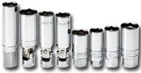 Spark Plug Socket Set SAE 38 Dr 8 pc