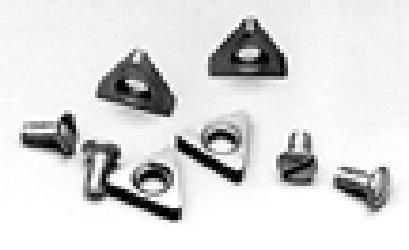 AMMCO 6918-6 Positive Rake Carbide Insert 6 Pack