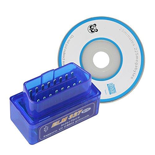 JOYING ELM 327 V21 Bluetooth Vehicle Diagnostic Tool OBD2 OBD-II ELM327 Car Interface Scanner Works On Android