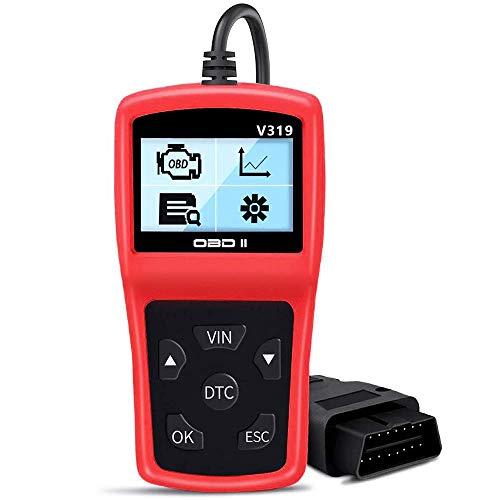 LINGSFIRE OBD2 Scanner V319 Vehicle Diagnostic Code Reader Universal Automotive Engine Fault Code Car Diagnostic Tool for All OBD II Car After 1996New Version