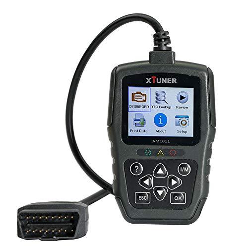XTUNER AM1011 OBDIIEOBD Plus Scan Tool Code Reader Vehicle Diagnostic Tool Update Online Support Multi-Language