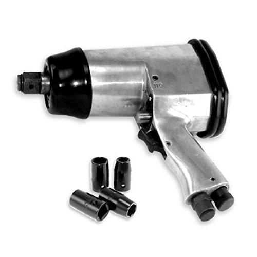 NEW 12 Inch Pneumatic Air Impact Wrench Short Shank 4 socket Set 250ftlb Torque