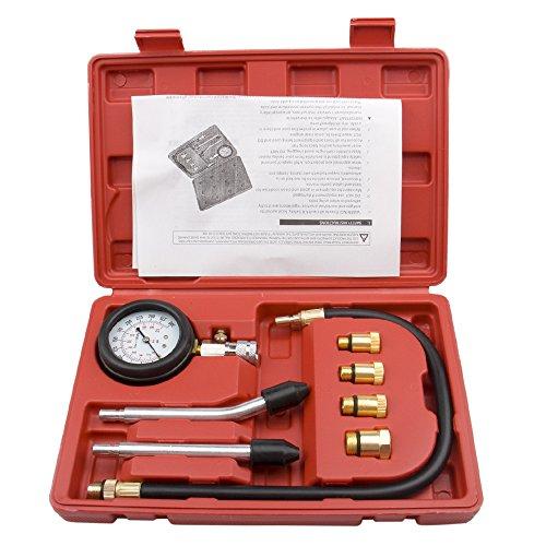 CarBole Compression Gauge Test Set for Engine Cylinders Diagnostic Tester