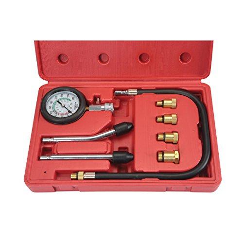 PMD Products Compression Gauge Test Set for Engine Cylinders Diagnostic Tester