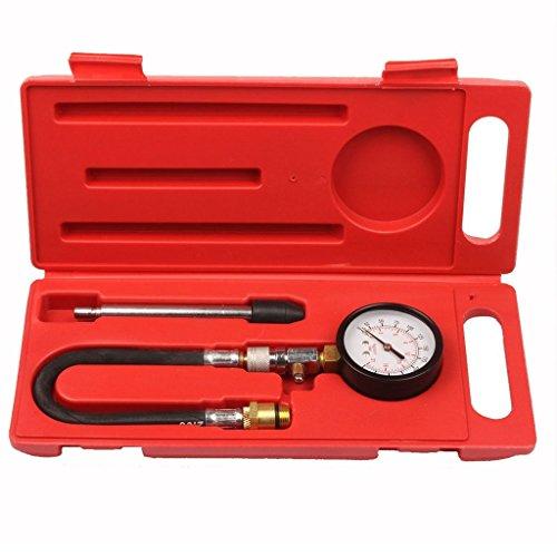 Supercrazy Petrol Engine Cylinder Compression Diagnostic Tester Tool Kit SF0073