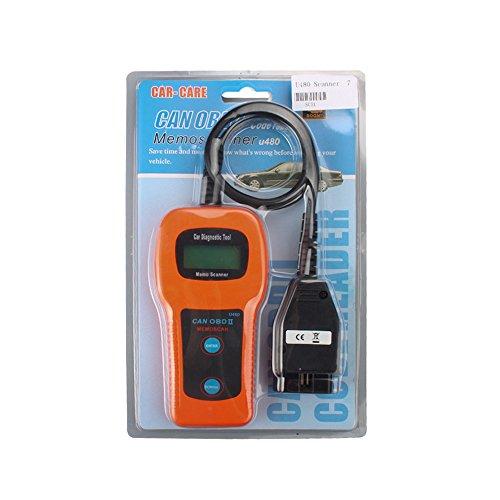 LHZTECH U480 CAN OBDII OBD2 Auto Engine Fault Code Reader Car Diagnostic Scanner Tool