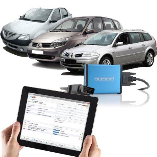 autoaid Internet Diagnostics Professional Car Diagnostic Scan Tool for Renault and Dacia