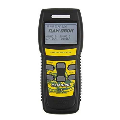 Car Memo Scanner U581 OBD2CANOBDIIEOBDIILive Data Automotive Car Engine Fault Code Reader for 1996 or Newer OBD2 Protocol Vehicle