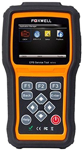 ELECTRONIC PARK BREAK EPB CODE READER OBD2 EOBD SCANNER FOXWELL NT415 FOR RENAULT