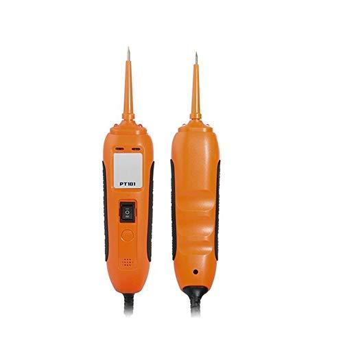 HYFFYH Car Tester 12V24V Power Probe Circuit Tester DCAC Electrical System Diagnostic Tool Voltage Current Test Car Battery Tester
