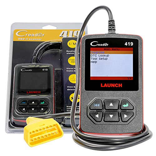 Launch CReader 419 DIY Scanner OBDIIEOBD Auto Diagnostic Scan Tool Code Reader