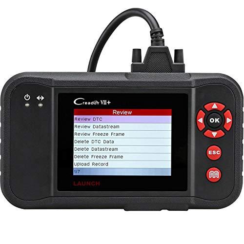 LAUNCH Code Reader Creader VII OBD2 Scanner Check ABS SRS Transmission Engine Car Diagnostic Scan Tool