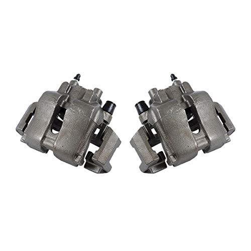 CCK01502  2  FRONT Premium Grade OE Semi-Loaded Remanufactured Caliper Assembly Pair Set