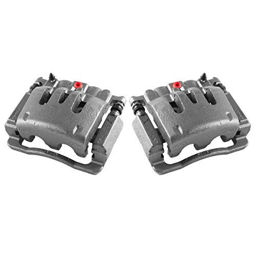 CCK02472  2  REAR Premium Grade OE Semi-Loaded Remanufactured Caliper Assembly Pair Set