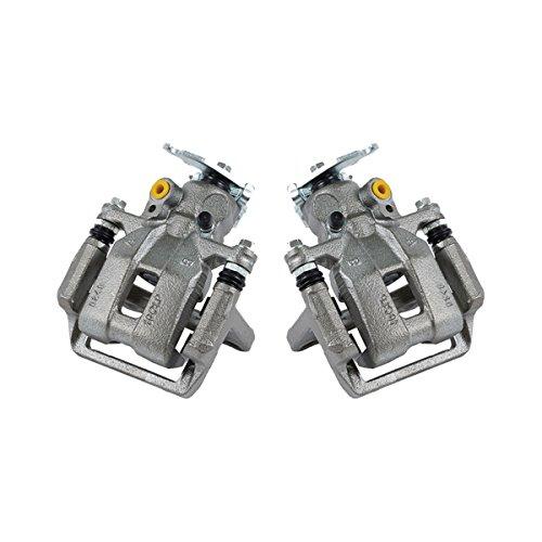 CCK11322 2 REAR Premium Grade OE Semi-Loaded Remanufactured Caliper Assembly Pair Set