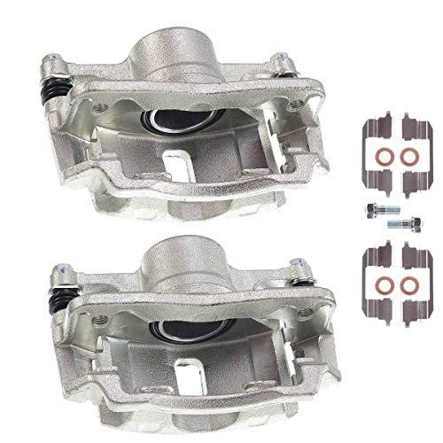 Set of 2 Front Brake Caliper Assembly for Honda Civic 1996-2011 Insight 2010-2014 Acura EL 1997-2000