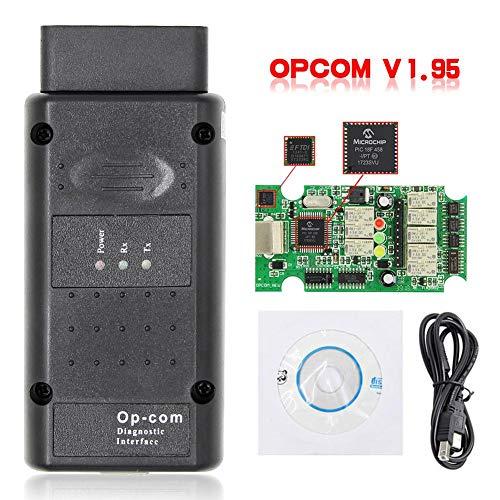 Laideyilan Car Fault Diagnosis Device OPCOM 2014V V199 Diesel Truck Diagnostic Tool NEXIQ2 USB Link NEXIQ Fault Diagnosis Tester with Bluetooth USB for Opel