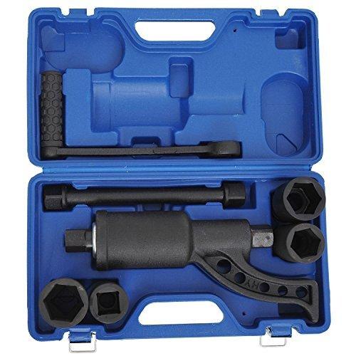 Heavy Duty Torque Multiplier Set Wrench Lug Nut Labor Saving Lugnut Remover Case Alloy steel
