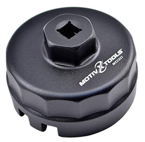 Motivx Tools Oil Filter Wrench for Toyota Lexus Scion 18 Liter Engines - Fits Prius Prius V Corolla Matrix CT200h iM iQ xD