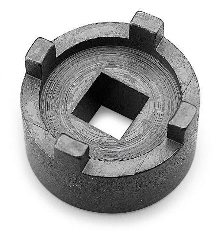 BikeMaster Oil Filter Spanner Wrench Engine Tool Accessories - Black