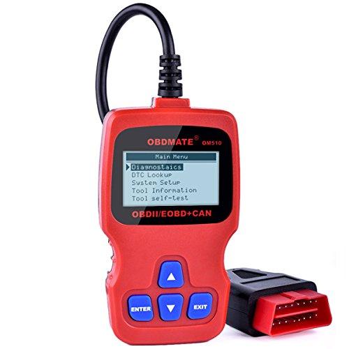 Vehicle Code Reader Autophix OM510 EOBD OBD2 Scanner Engine System Diagnostic Scan Tool Work on All OBD2 Protocols