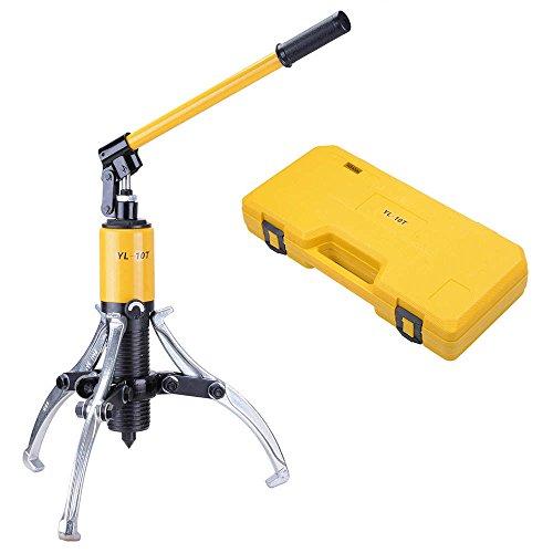 15 Ton 3-Jaw Hydraulic Gear Puller Changeable Kit w Case