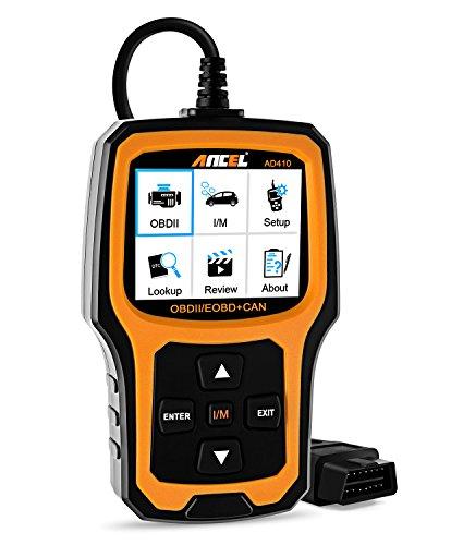 ANCEL AD410 Enhanced OBD II Vehicle Code Reader Automotive OBD2 Scanner Auto Check Engine Light Scan Tool