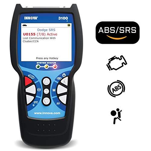 Innova 3100j OBD2 Scanner  Car Code Reader with ABS SRS and Service Light Reset