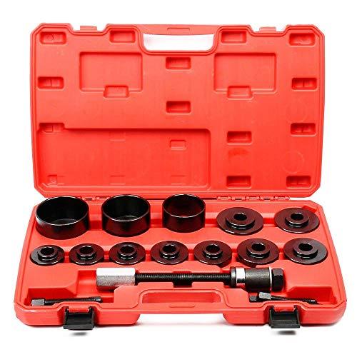 Lizudian 14 Pc Master Ball Joint Remover Splitter Installer Adaptors Kit Repair Tool Case