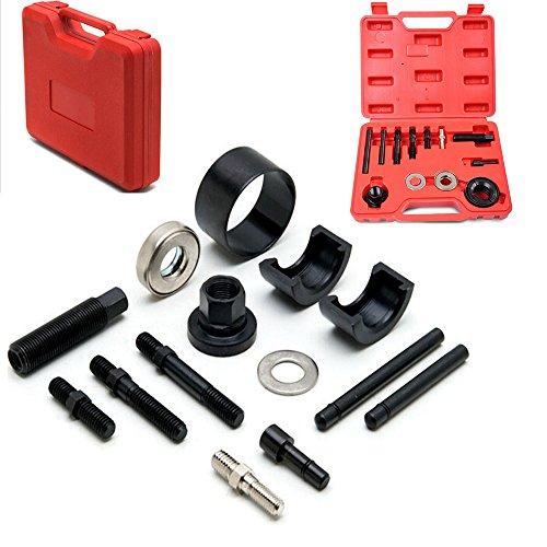Auto 13PCs Pulley Puller Remover Installer Tool Kit for Power Steering Alternator AC