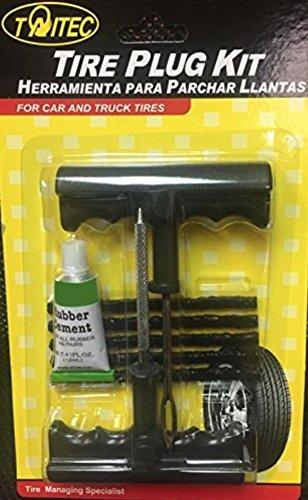TAITEC Puncture Repair Kit PRO-1034A Car Truck Tires Tubeless Tire Repair Plug
