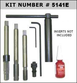 Big-Sert 5141E Deep Hole Spark Plug Kit M14 X 125